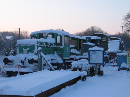 Locos sous la neige