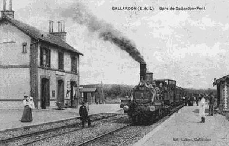 Gare de Pont 1930